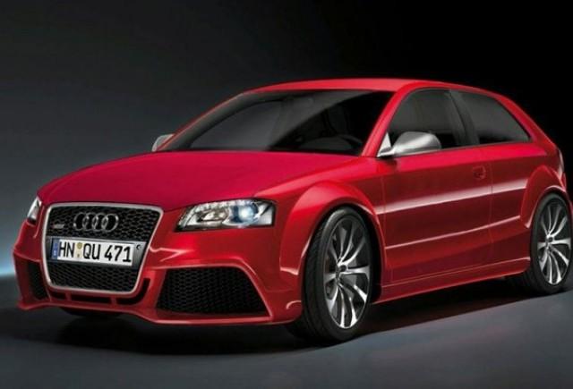Audi RS3 parcheaza pentru prima data la Frankfurt