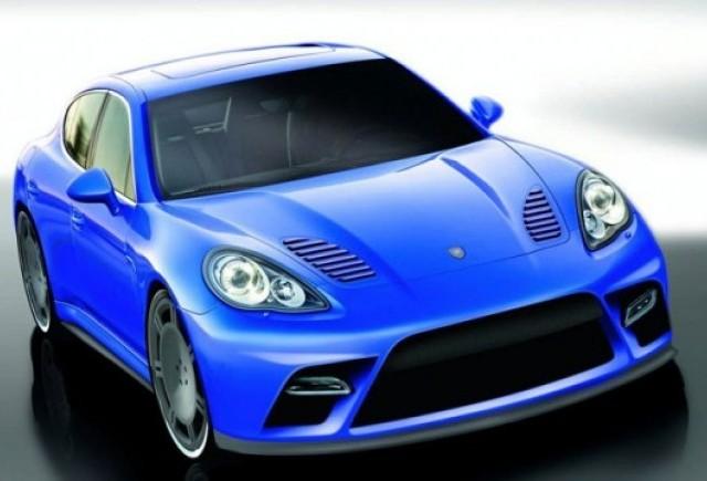 Porsche Panamera Turbo, preparat de 9ff