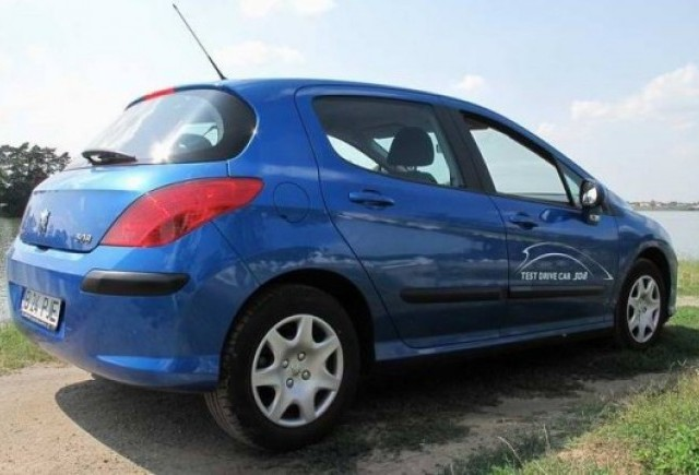 Am testat Peugeot 308 1.6 HDi