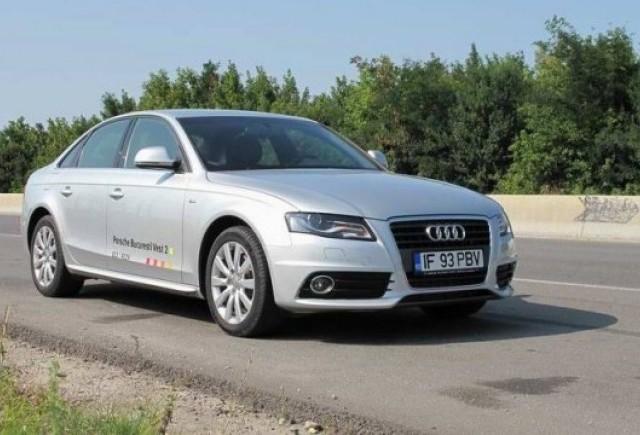Test-drive cu Audi A4 2.0 TDI
