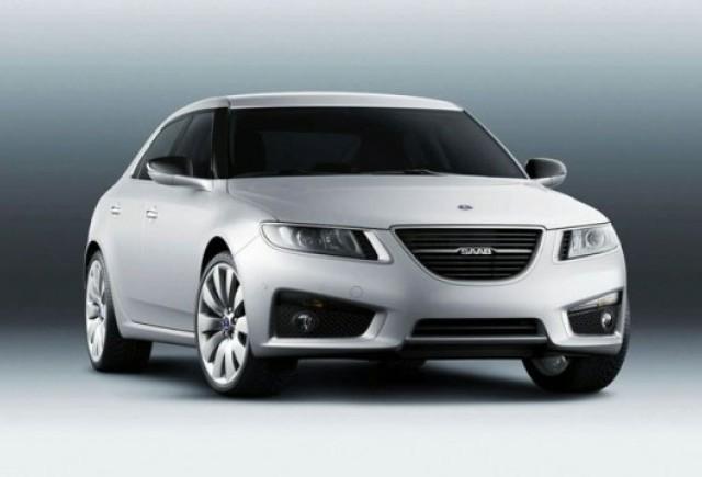 Iata noul Saab 9-5!