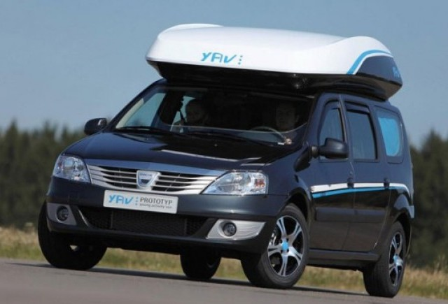 Primele imagini cu Dacia Young Van III