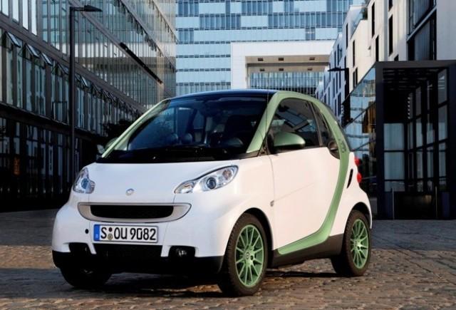 Smart incepe productia de serie pentru a doua generatie de autovehicule cu  motor electric