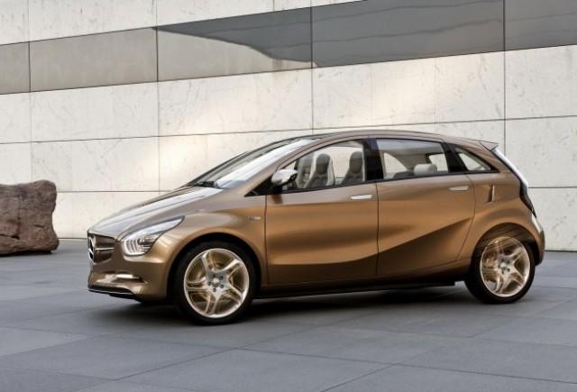 Vezi imagini cu noul Mercedes BlueZERO E-Cell