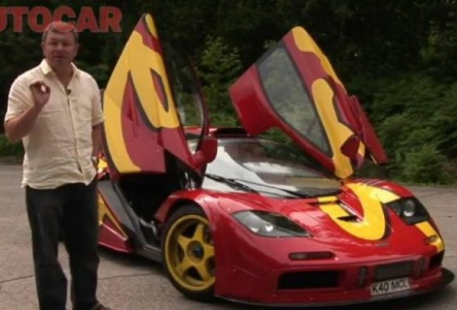 VIDEO: Autocar testeaza McLaren F1