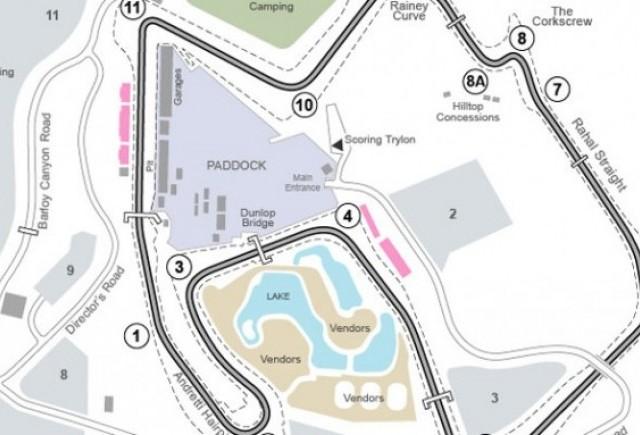 Circuitul Laguna Seca poate fi accesat prin Google Street View