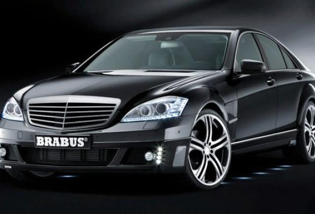 Brabus S-Klasse vine la Frankfurt: 750 CP, 1350 Nm