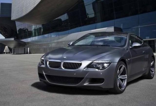 BMW aduce la Frankfurt M6 Competition Edition