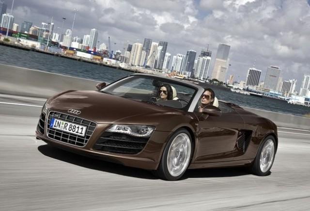 Primele imagini cu Audi R8 Spider