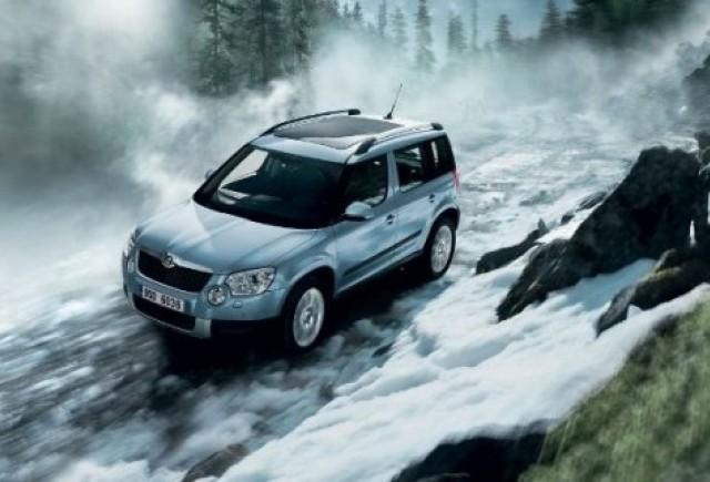 Primul autoturism Skoda Yeti vandut in Romania de dealerul Brady