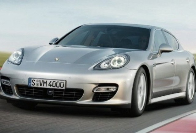 Porsche Romania a lansat prima limuzina Porsche Panamera