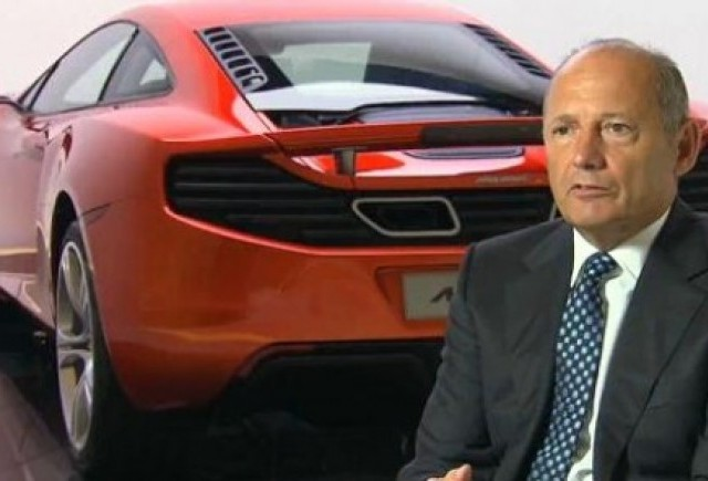 VIDEO: McLaren MP4-12C, prezentat de Ron Dennis
