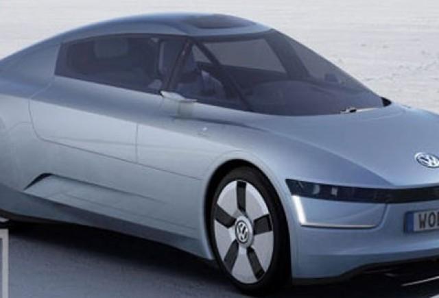 VW 1 liter Concept vine la Frankfurt