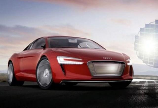 Concept electric Audi: R8 e-Tron