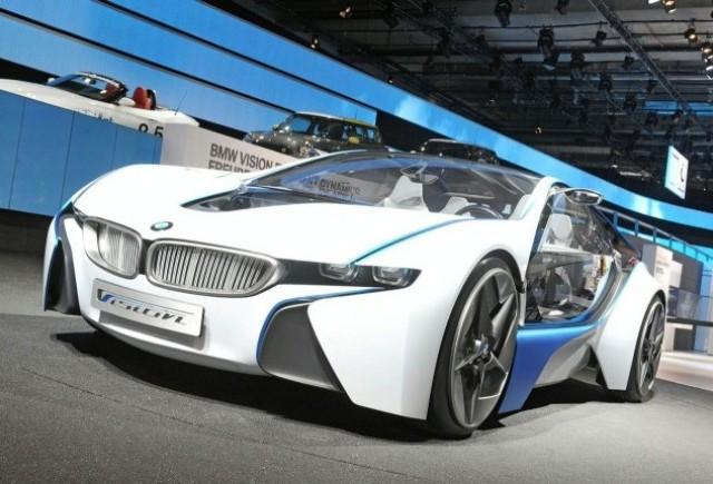 Frankfurt LIVE: BMW a prezentat conceptul Vision Efficient Dynamics