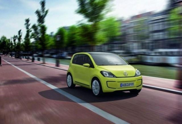 Frankfurt LIVE: VW prezinta conceptul electric E-Up!