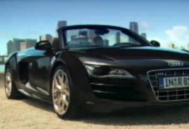 VIDEO: Audi R8 Spyder, dezvaluit la Frankfurt
