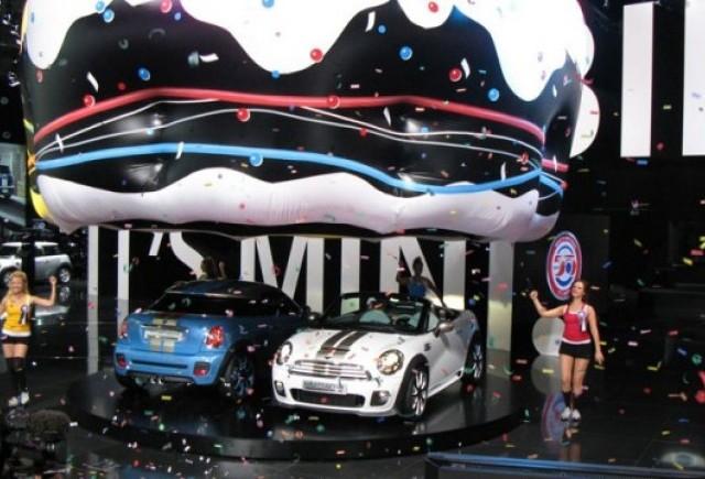 Frankfurt LIVE: Mini si-a serbat la salon implinirea a 50 de ani