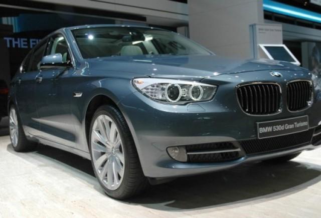 Frankfurt LIVE: BMW Seria 5 GT, in persoana