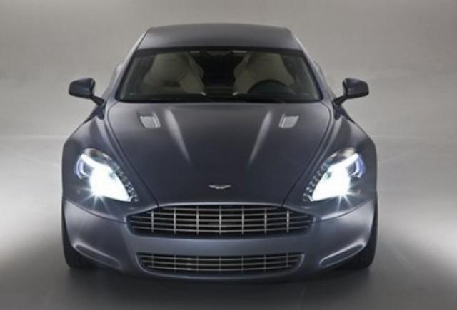 Frankfurt LIVE: Aston Martin Rapide!