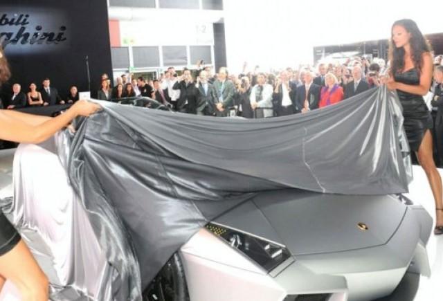 Frankfurt LIVE: Lamborghini prezinta Reventon Roadster