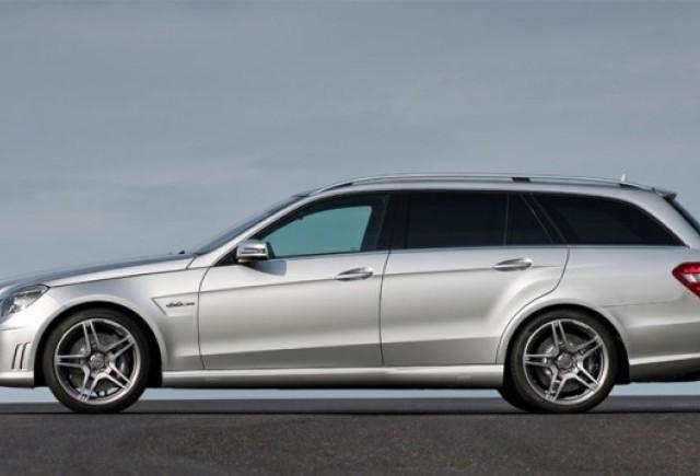 Frankfurt LIVE: Mercedes E63 AMG Estate