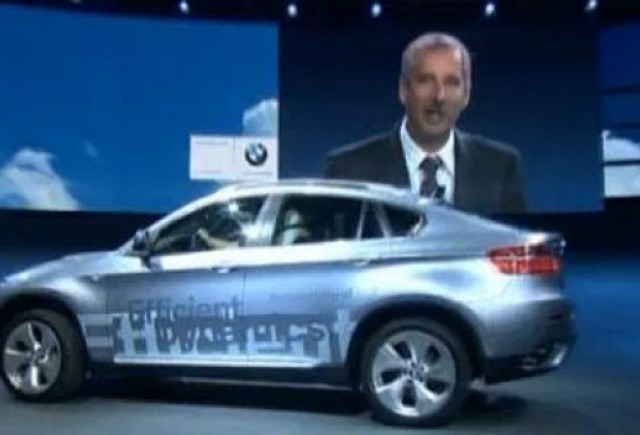 VIDEO: BMW ActiveHybrid 7 la Frankfurt