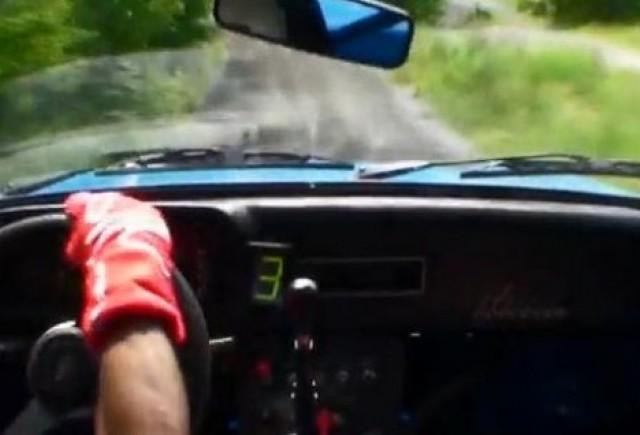 VIDEO: Ken Block si Chris Atkinson pe un Ford Escort Rally din '78