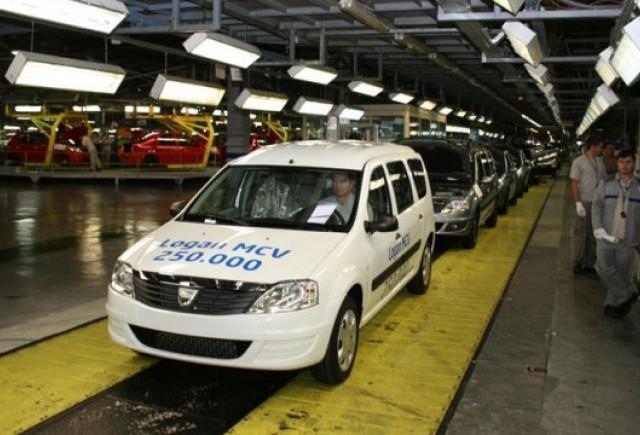 Dacia a produs Logan MCV-ul cu numarul 250.000