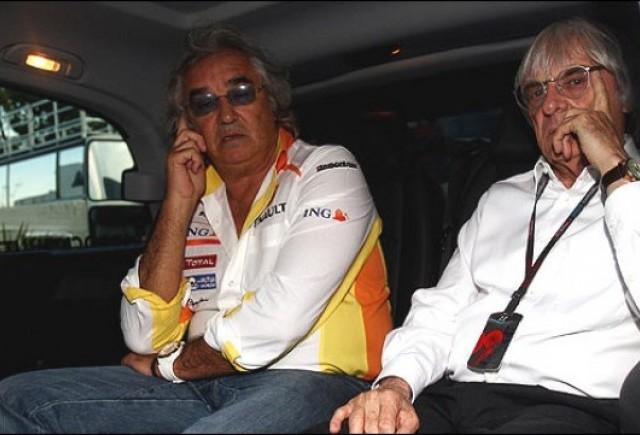 Briatore a fost suspendat pe viata, Renault primeste 2 ani