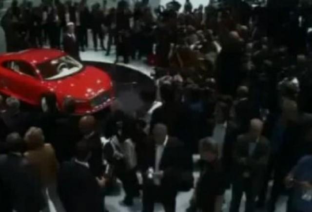 VIDEO: Audi e-Tron a facut senzatie la Frankfurt