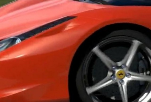 VIDEO: Noul Ferrari 458 Italia in GrandTurismo 5