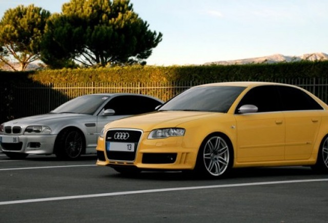 Audi si BMW renunta la motoarele V10