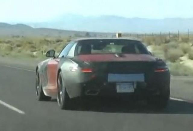 Video Spion: Mercedes SLS AMG Roadster