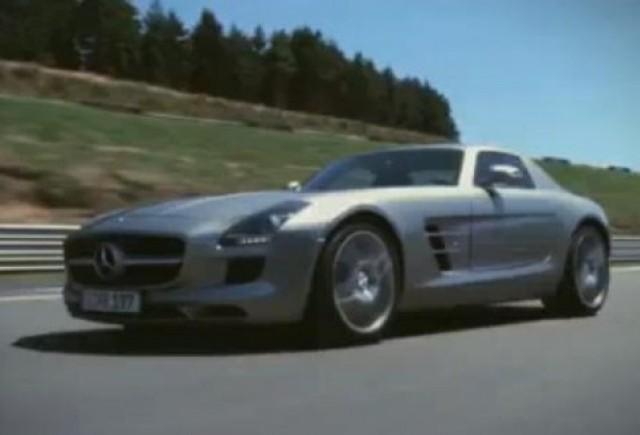 VIDEO: Mercedes SLS AMG in Gran Turismo 5