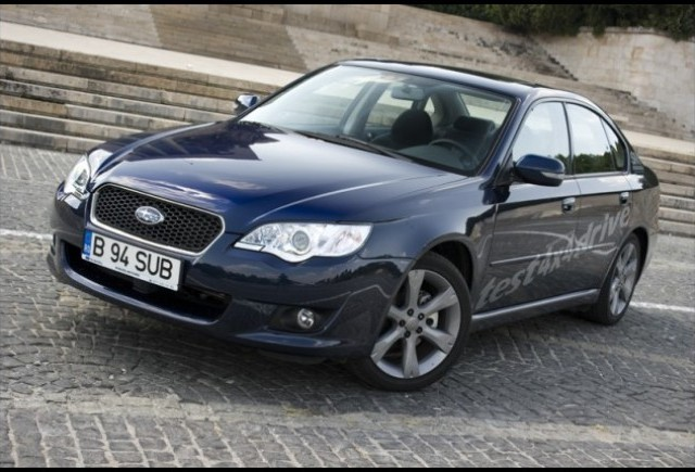 Test-drive cu Subaru Legacy