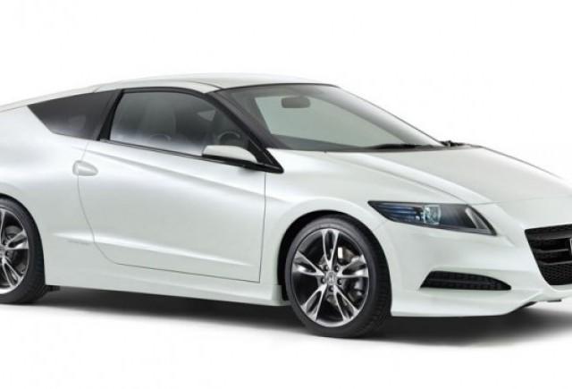 Primele imagini cu noul Honda CR-Z Sports Coupe