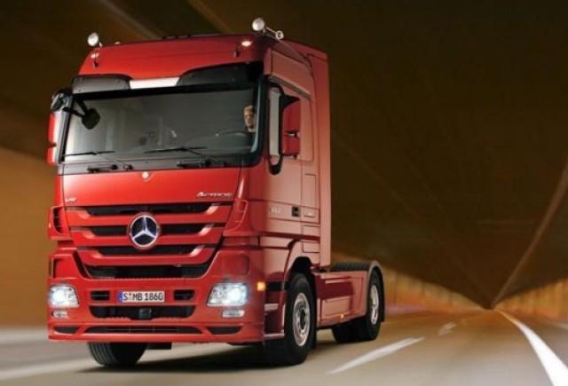 Daimler va produce camioane in Rusia