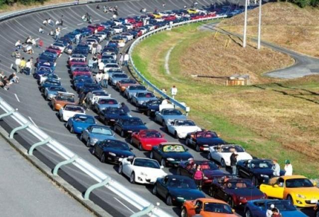 Parada cu 1.600 Mazda MX-5