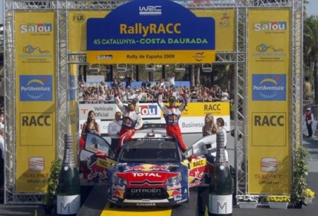 Loeb a castigat Raliul Spaniei. Titlul mondial se disputa in ultima etapa