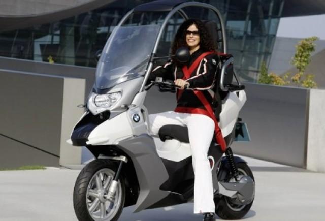 Conceptul BMW C1-E, scuterul sigur si eco
