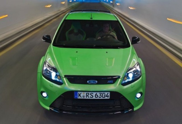 Ford Focus RS consuma 7,34 l/100 km