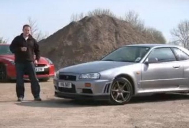 VIDEO: Confruntare Nissan: Skyline vs. GT-R