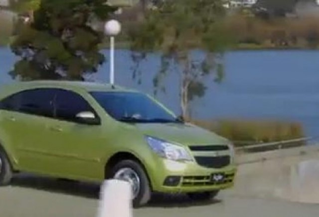Primul video cu noul  Chevrolet Agile