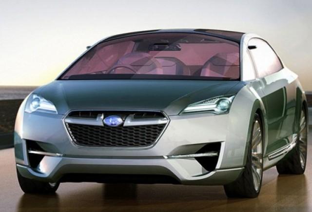Imagini oficiale cu Subaru Hybrid Tourer Concept