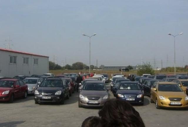 Cea mai mare parada Kia din lume, in Romania la Brasov