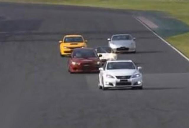 VIDEO: Confruntare intre cele mai rapide modele japoneze
