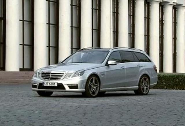 VIDEO:  Mercedes E63 AMG Estate