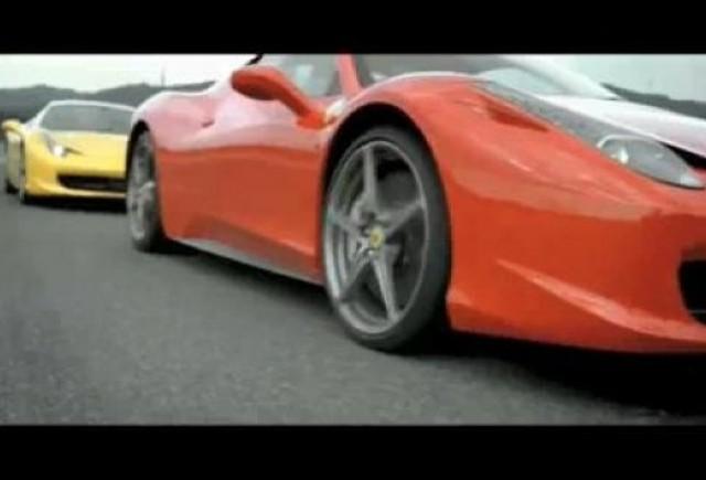 VIDEO: Doua Ferrari 458 Italia alearga pe circuitul Mugello