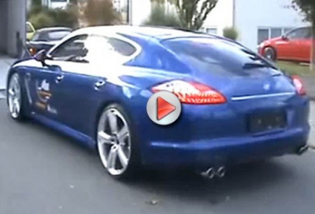 VIDEO: Porsche Panamera suna promitator